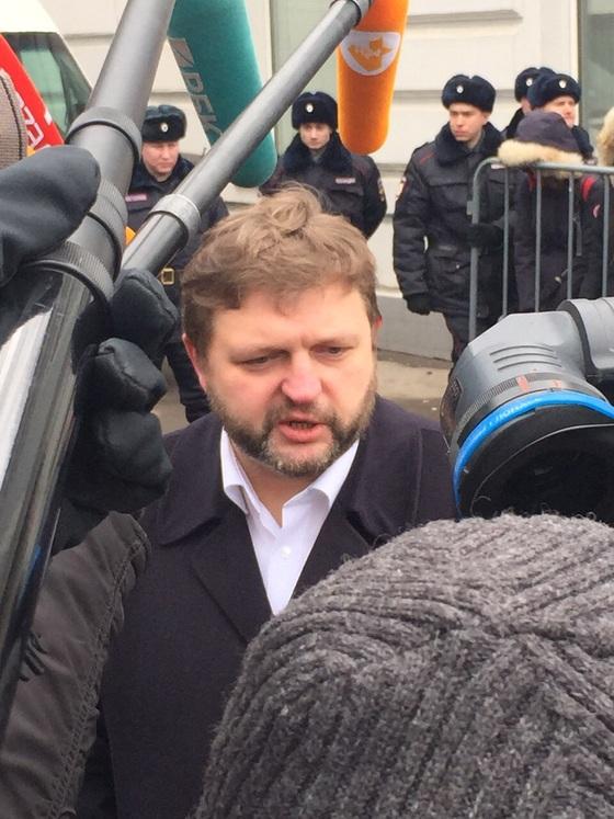 Российский политик Никита Белых
