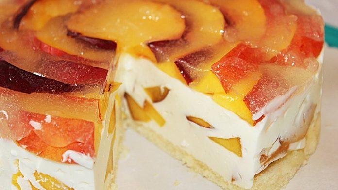 ПП-десерт — Творожно-йогуртовый торт «Нотка лета»