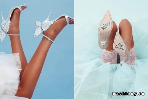 Коллекция обуви для смелых невест от Софии Вебстер