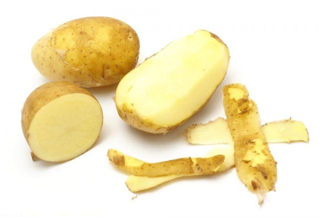 Картофельная кожура - экологический способ очистки чайника