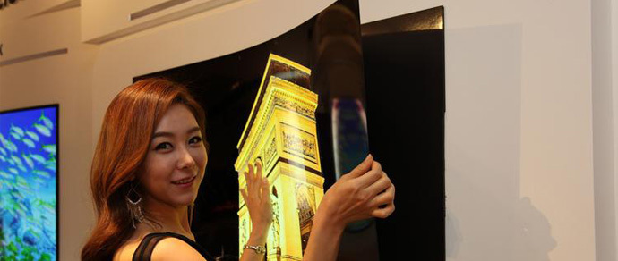 LG представила телевизионную OLED-панель толщиной менее миллиметра