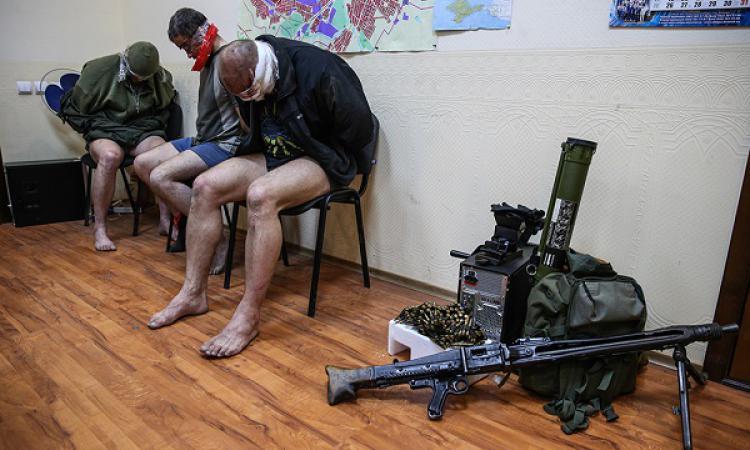 В плен ЛНР попали украинские силовики