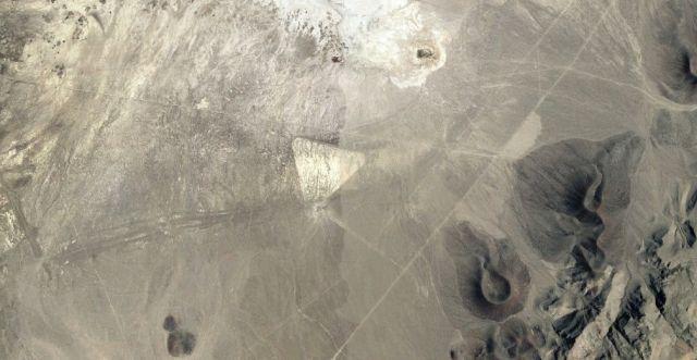 На картах Google Earth в пус…