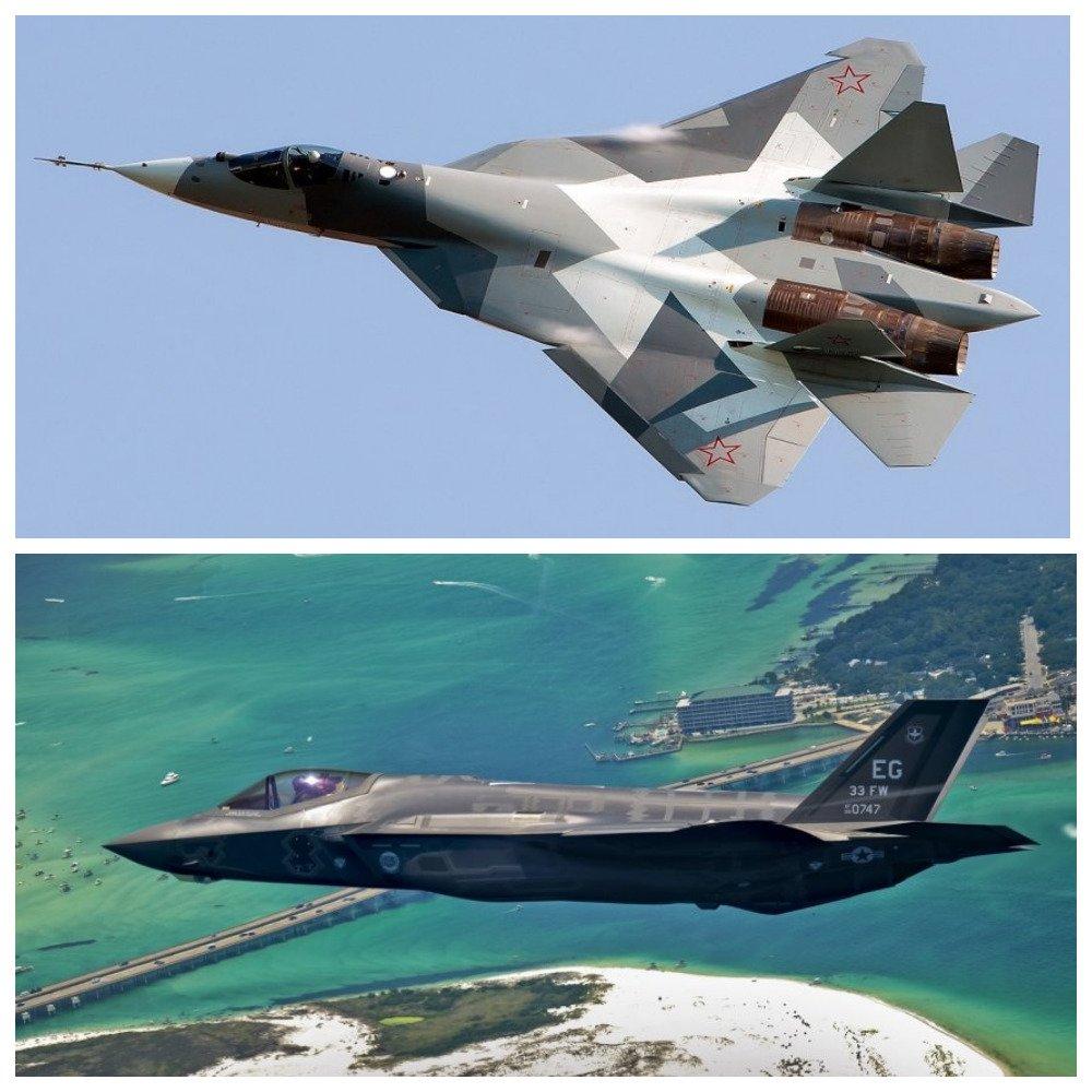 В National Interest сравнили российский Су-57 и американский F-35