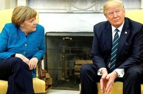 Развод неизбежен: зачем Трамп начал швырять предметы в Меркель