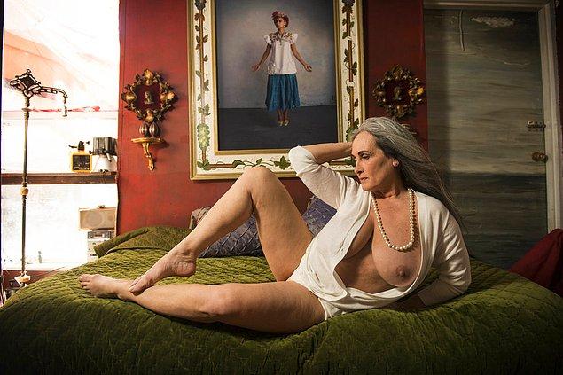 """Анна Розенберг, 59 - """"Сегодня быть сексуальной для меня означает быть привлекательной и креативной"""""""