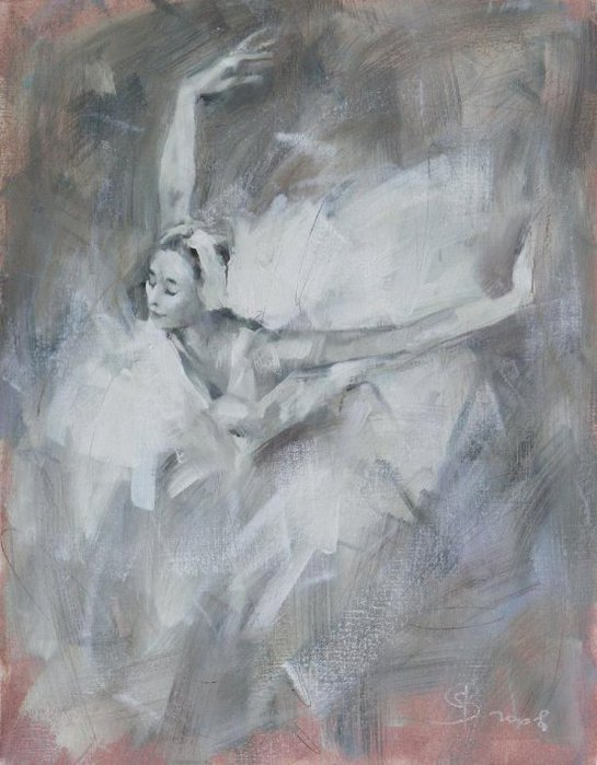 Молодая балерина (545x700,  66Kb)