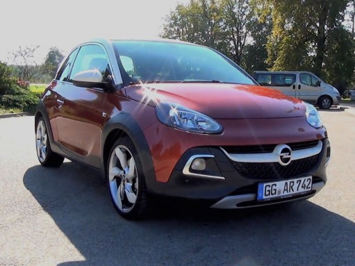 Тест-драйв Opel Adam Rocks (ВИДЕО)