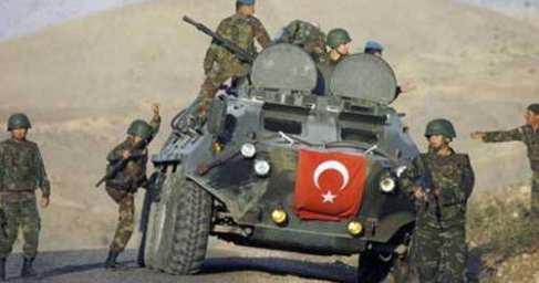Турецкая армия бежит извосточной Турции отнаступающих курдов (ВИДЕО)