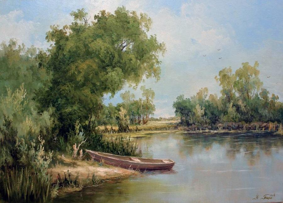 Пейзажи украинского художника Юрия Пацана