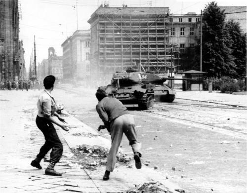 Русский античеченский бунт в Грозном. 1958 год.