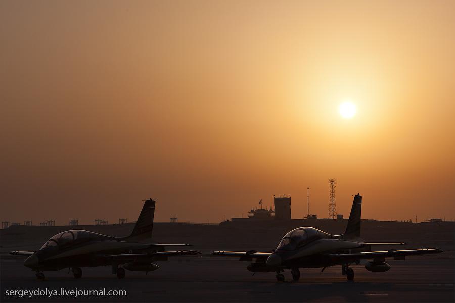 1619 Авиасалон в Бахрейне: Фотографии, сделанные против солнца
