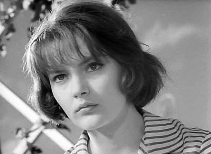 Марианна Вертинская в фильме *Високосный год*, 1961