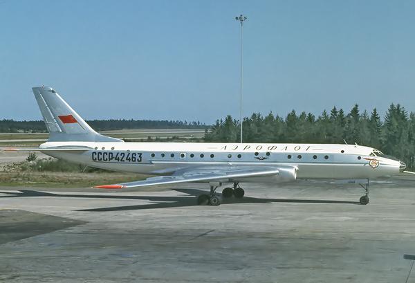 Почему Ту-104 оказался самым опасным советским пассажирским самолетом