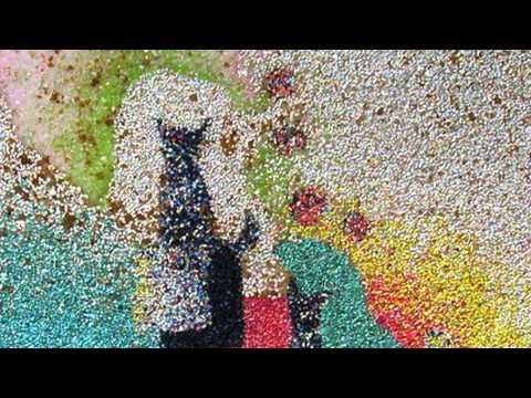 Картины из разноцветного песка wmv