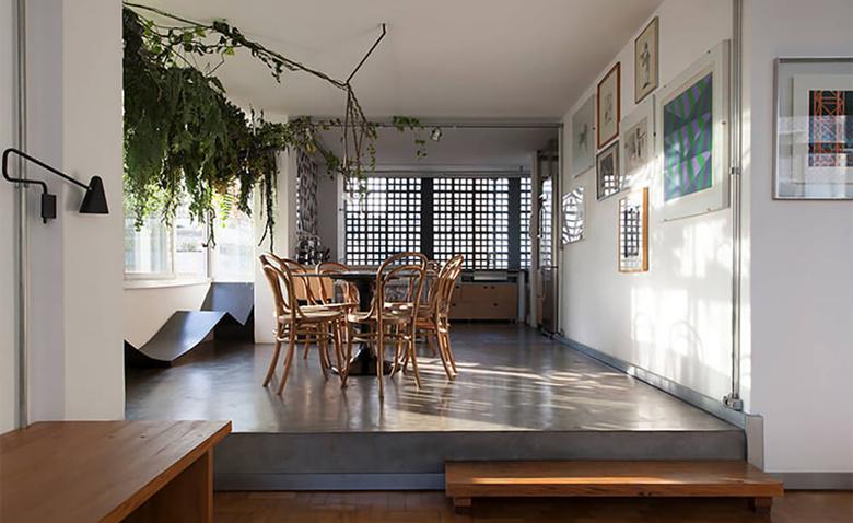 Апартаменты известной бразильской пары фотографа и архитектора