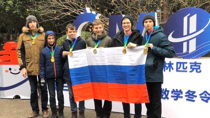 Россияне взяли пять золотых …