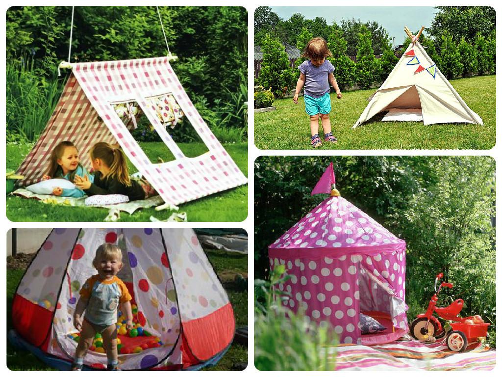 Как сделать палатку на улице своими руками 51