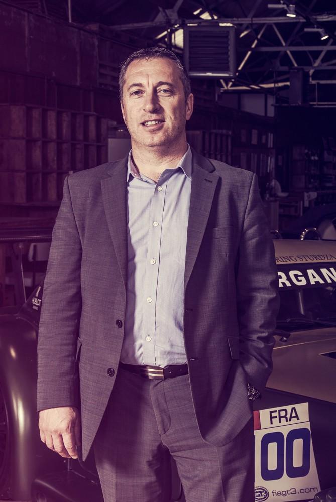 СТИВ МОРРИС Управляющий директор morgan, авто, завод, производство