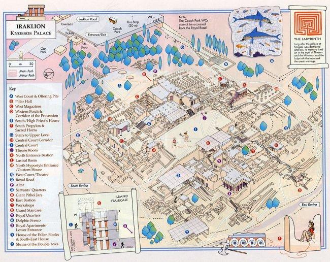 Выход из лабиринта древности: каков он на самом деле?