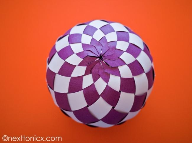Как сделать шары из бумаги своими руками поэтапно фото для начинающих
