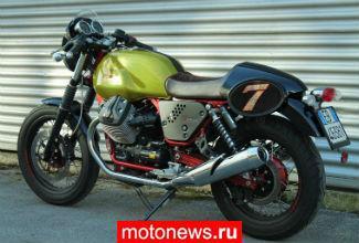 Moto Guzzi выпустил V7 в версии Verde Legnano