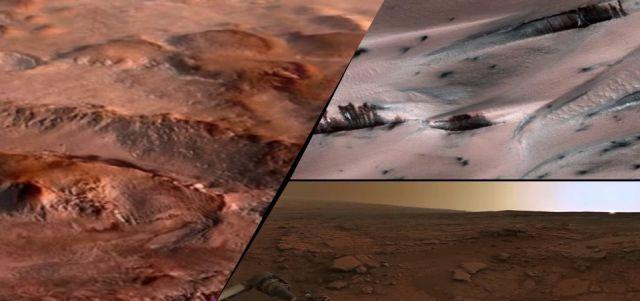 На Марсе зафиксированы таинс…