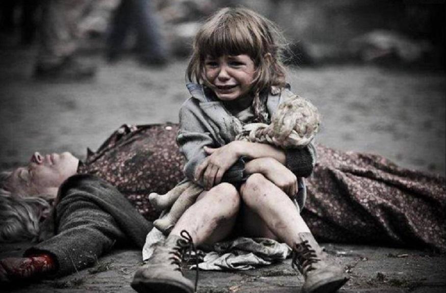 «Ваше молчание убивает детей Донбасса!»