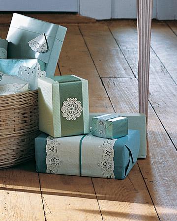декоративное оформление подарков
