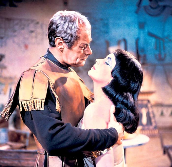 Элизабет Тейлор (Elizabeth Taylor) на съемках фильма «Клеопатра» (Cleopatra) (1963), фото 16