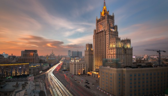 Москва с крыш