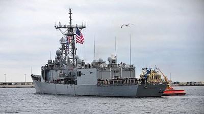 Американский фрегат Taylor вошел в Черное море