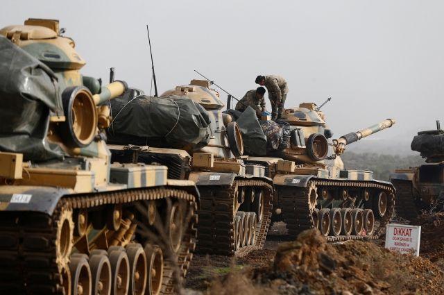 Турецкая армия поразила более 170 целей в Африне