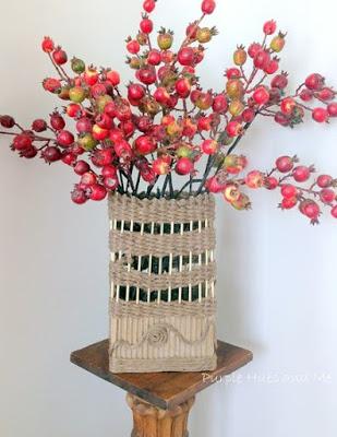 Декор вазы своими руками фото