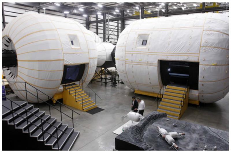Bigelow Aerospace - легкая частная космическая станция. интересное, космический туризм, космос