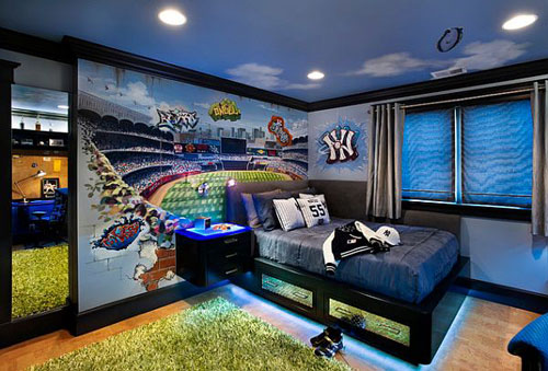 22 фото дизайна комнаты для мальчика подростка.
