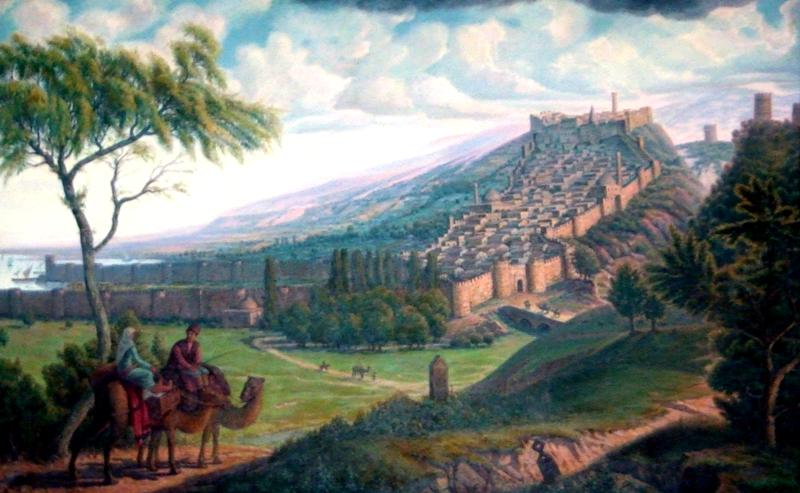 Сакральное значение для России: этому городу свыше 7 000 лет.  Он на несколько тысячелетий  старше Дели, Пекина, Тегерана, Стамбула...