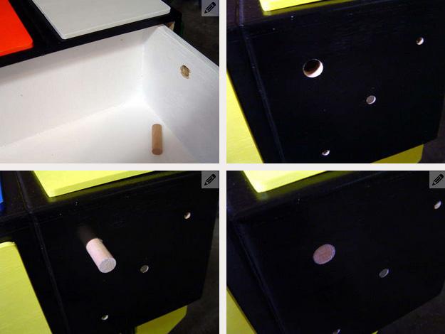 Как сделать комод с ящиками