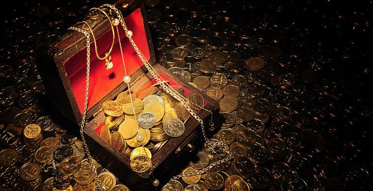 На дне алтайского озера нашли золото Колчака