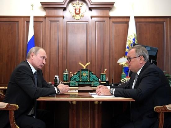 """Путин поддержал отказ от доллара по """"плану Костина"""""""