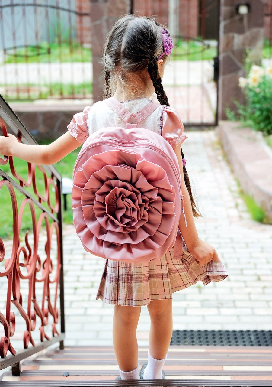 Лепесток к лепестку: украшаем рюкзак розой