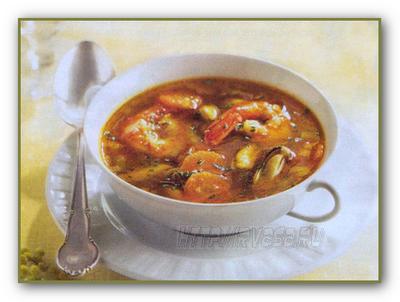 Рецепт супа с морепродуктами