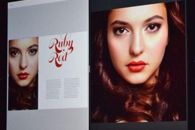 Использование Apple фото российской модели в презентации вызвало неоднозначную реакцию