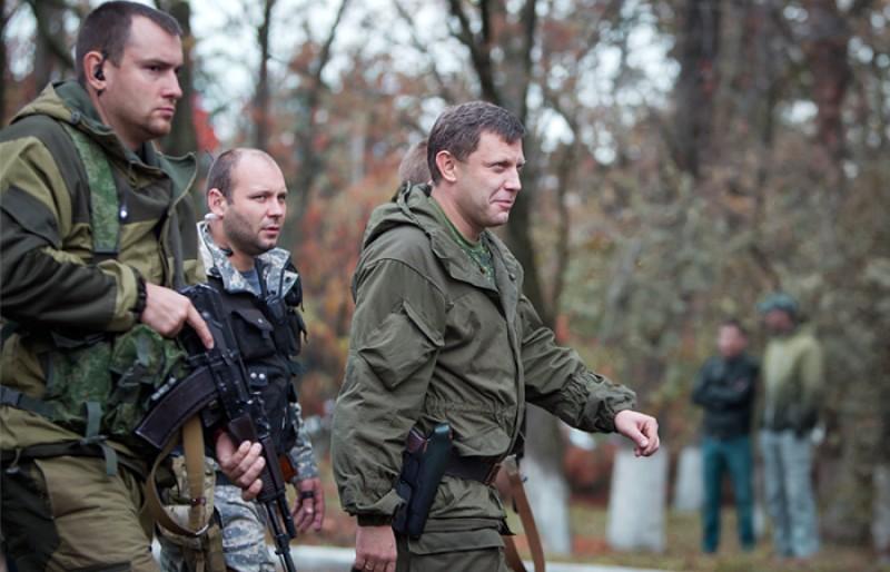 Захарченко: Украина не может не воевать