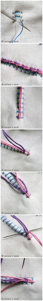 Вышивка. Приёмы вышивания