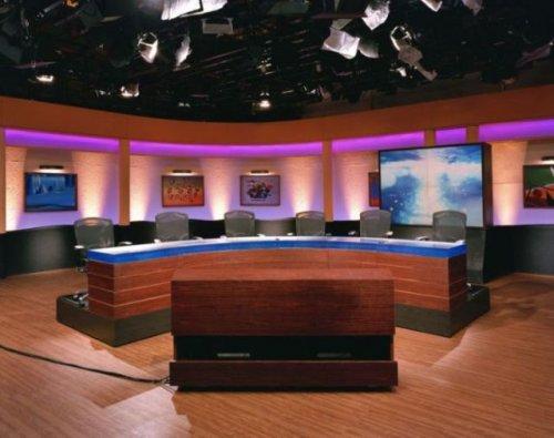 Телевизионные студии по всему миру (19 фото)