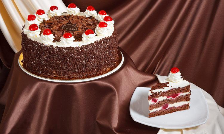 Торт рецепт с фото шварцвальдский