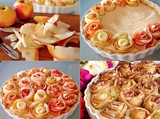 розочки с яблок для выпечки