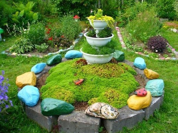 В картинках дизайн сада-огорода своими руками,ландшафтный дизайн..