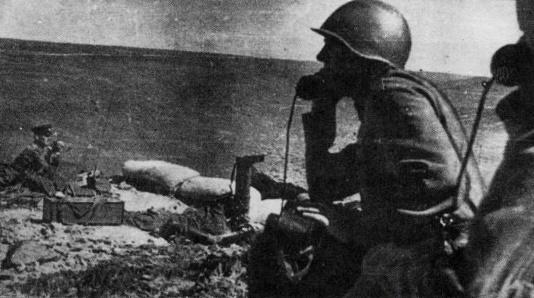 Как советские пограничники в…